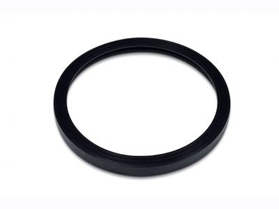 Rubber isolations flange for lights